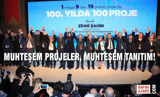 Başkan Zihni Şahin'den Atakum İçin 100'üncü Yılda 100 Proje