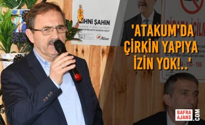 Başkan Zihni Şahin, Müteahhitlere Seslendi
