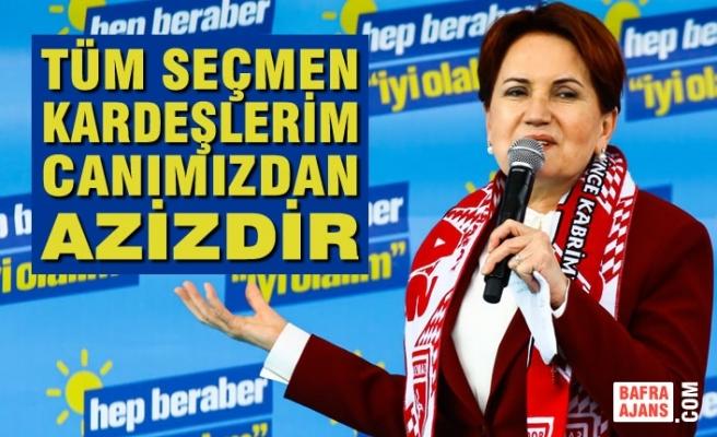 İYİ Parti Genel Başkanı Akşener Samsun'da Konuştu