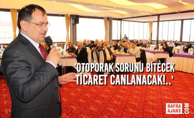 Mustafa Demir, İş İnsanlarına Seslendi