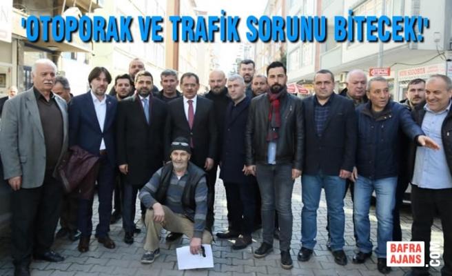 Mustafa Demir; Samsunlu Şoförlerle Bir Araya Geldi