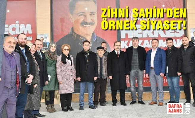 Zihni Şahin'den CHP Seçim Bürosu'na Ziyaret