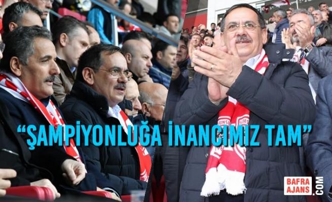 "Mustafa Demir; ""Şampiyonluğa İnancımız Tam"""