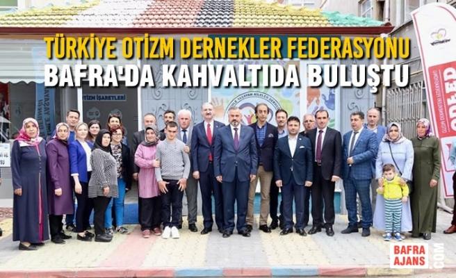Türkiye Otizm Dernekler Federasyonu Bafra'da Buluştu