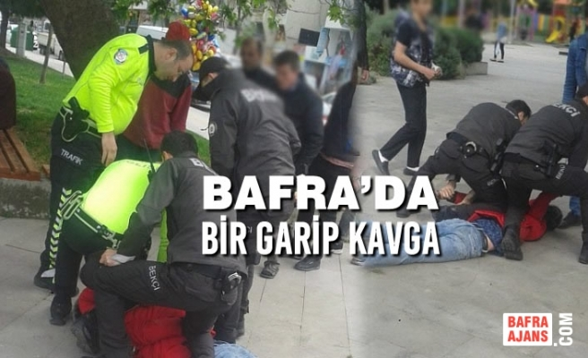 Alparslan Türkeş Parkında Bir Garip Kavga