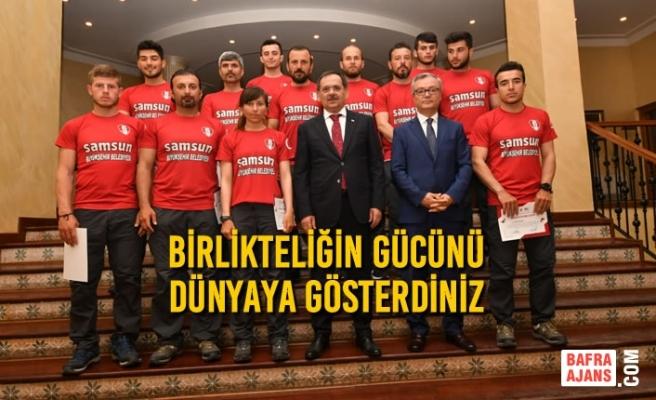 Başkan Mustafa Demir'den Dragon Bot Sporcularına Övgü