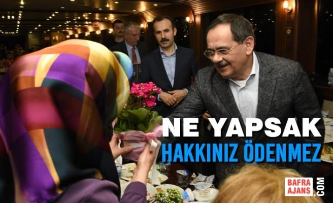 Büyükşehir Belediye Başkanı Mustafa Demir'den Annelere