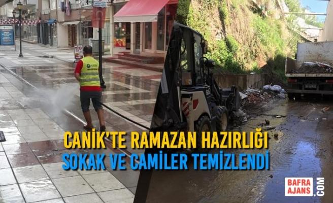 Canik'te Ramazan Temizliği