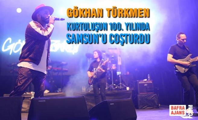 Gökhan Türkmen Kurtuluşun 100. Yılında Samsun'u Coşturdu