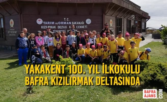 Yakakent 100. Yıl İlkokulu Bafra Kızılırmak Deltasında
