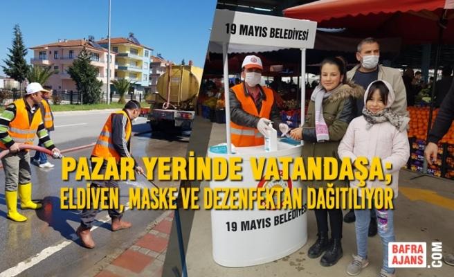 19 Mayıs Belediyesi Çalışmalara Ara Vermiyor