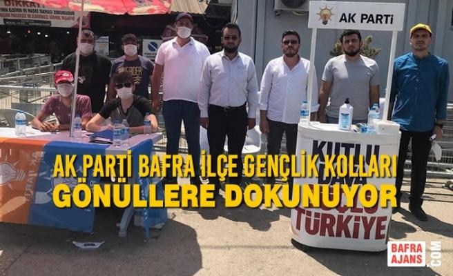 AK Parti Bafra İlçe Gençlik Kolları Gönüllere Dokunuyor
