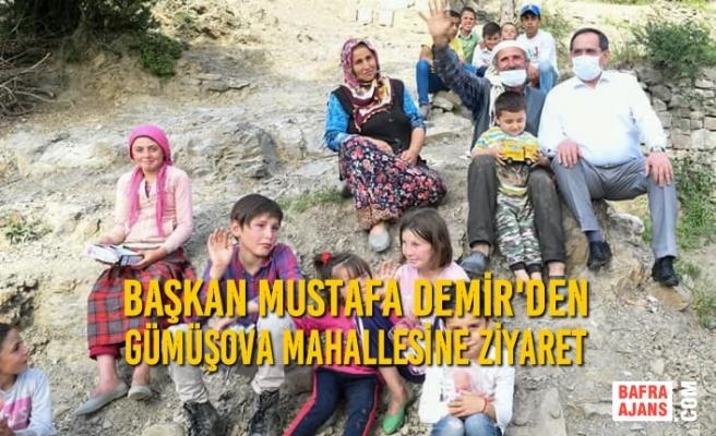 Başkan Demir'den Gümüşova Mahallesine Ziyaret