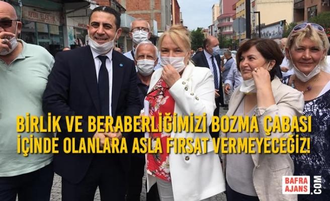 """İYİ Parti İl Başkan Adayı Cemal Ceyhun Karaca:""""Birlik ve beraberliğimizi bozma çabası içinde olanlara asla fırsat vermeyeceğiz!"""""""