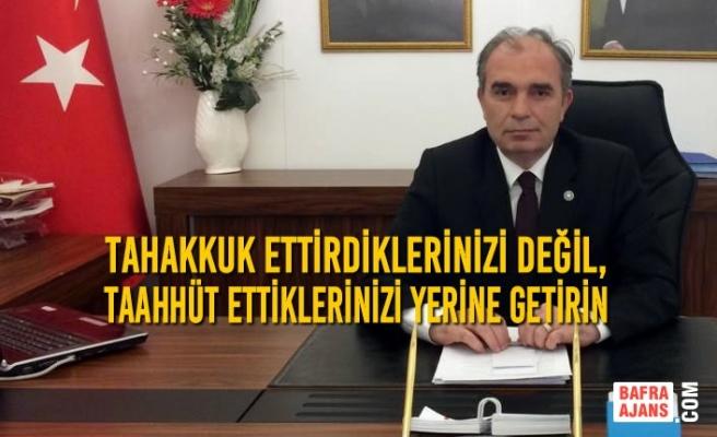 İYİ Parti İlçe Başkanı Yılmaz'dan SASKİ'ye Kıyas Fatura Tepkisi