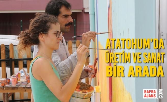 Atakum Belediyesi'nin AtaTohum Merkezi Sanatla Renklendi
