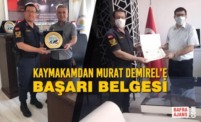 Başçavuş Murat Demirel'den Kaymakam ve Belediye Başkanına Ziyaret