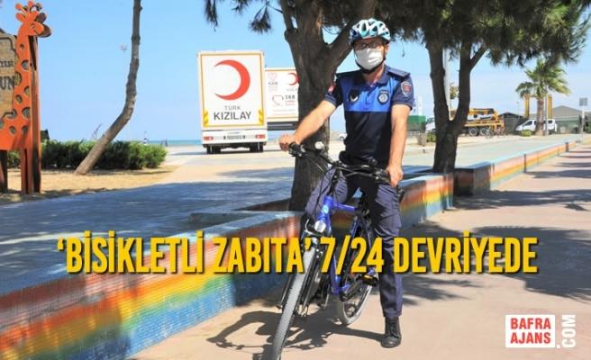 'Bisikletli Zabıta' 7/24 Devriyede
