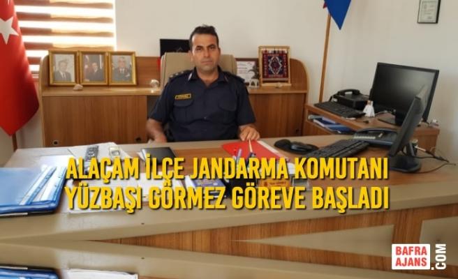 Alaçam İlçe Jandarma Komutanı Görmez Göreve Başladı
