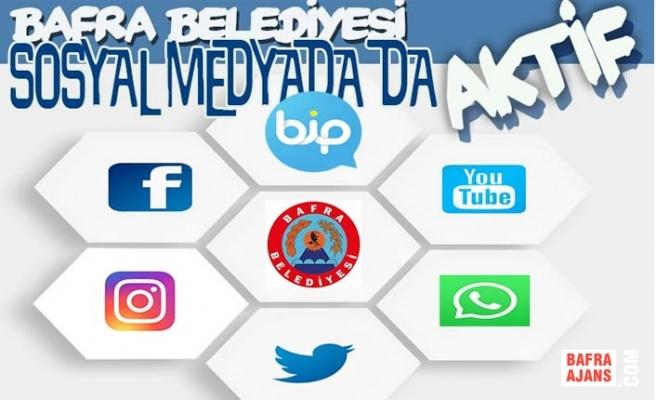 Bafra Belediyesi Sosyal Medyada Da Aktif