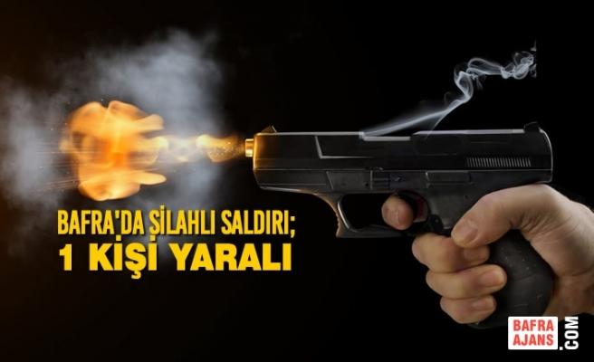 Bafra'da Silahlı Saldırı; 1 Kişi Yaralı