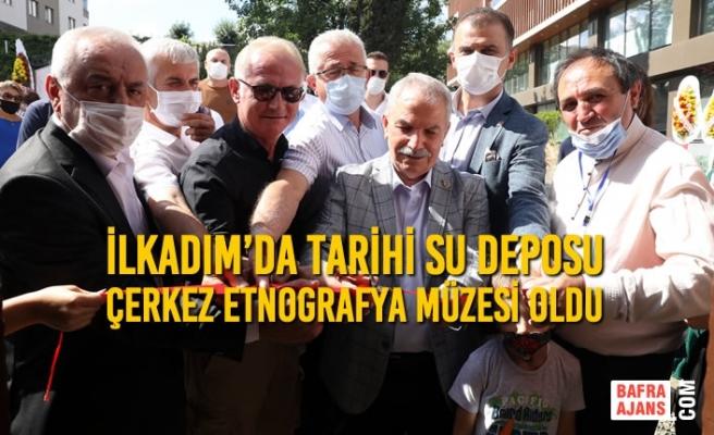 Başkan Demirtaş'tan Çerkes Kültürüne Büyük Katkı
