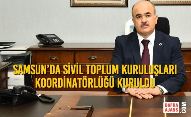 Samsun'da Sivil Toplum Kuruluşları (STK) Koordinatörlüğü Kuruldu