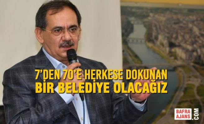 Başkan Demir, Çarşambalılar Derneği'nde Konuştu