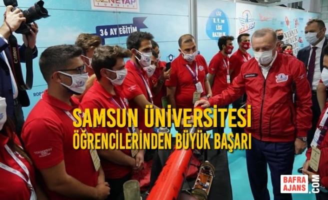 Samsun Üniversitesi Öğrencilerinden Büyük Başarı