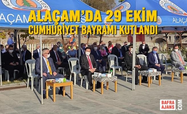 Alaçam'da 29 Ekim Cumhuriyet Bayramı Kutlandı