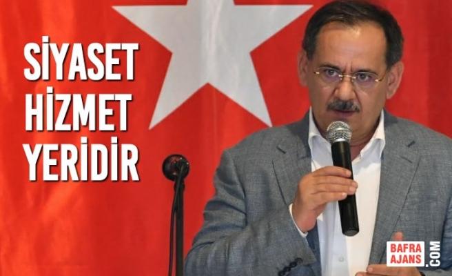 Başkan Demir, Ayancık ve Gerze İlçelerindeki AK Parti Kongrelerine Katıldı