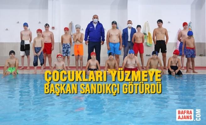 Canik'te Yüzme Bilmeyen Kalmasın Projesi Başladı