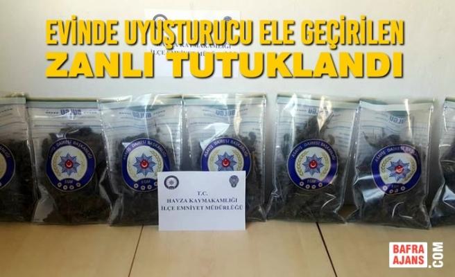 Evinde Uyuşturucu Ele Geçirilen Zanlı Tutuklandı
