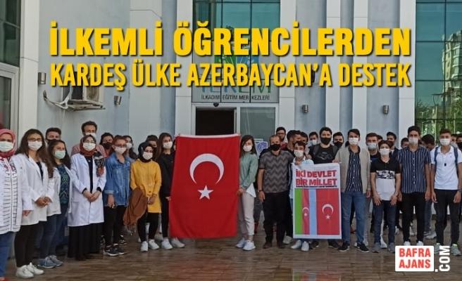 İlkemli Öğrencilerden Kardeş Ülke Azerbaycan'a Destek