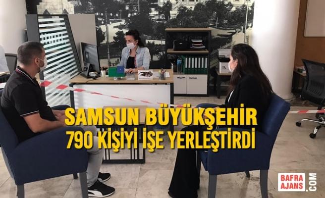 Samsun Büyükşehir 790 Kişiyi İşe Yerleştirdi