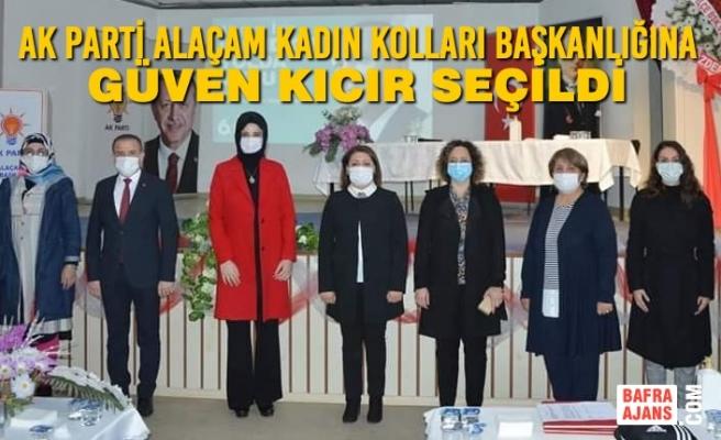 AK Parti Alaçam Kadın Kolları Başkanlığına Güven Kıcır Seçildi