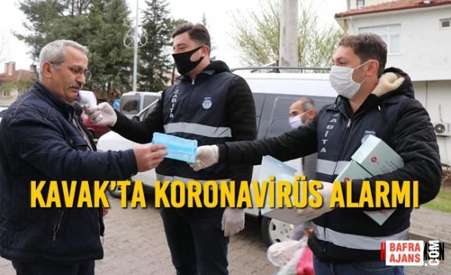 Kavak'ta Koronavirüs Alarmı