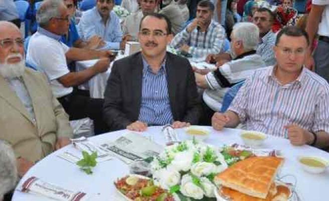 """Adalet Bakanı Ergin, Hatay'da """"gönül İftarı""""na Katıldı"""