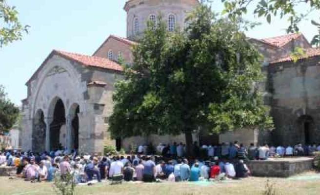 Ayasofya Camisi'nde Ramazan Ayının İlk Cuması Kılındı
