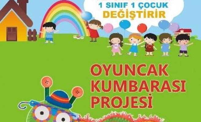 Ayvacık Anaokulu'ndan 'oyuncak Kumbarası' Projesi