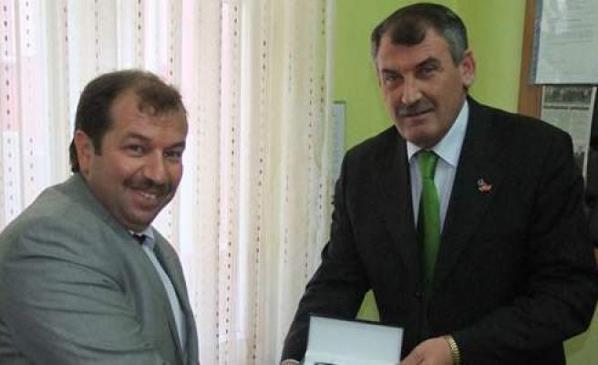 Bafra Kosovalılar Derneği'ne Ziyaret