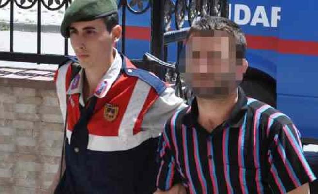 Bafra'da Mazgal Hırsızlığı Zanlısı Yakalandı