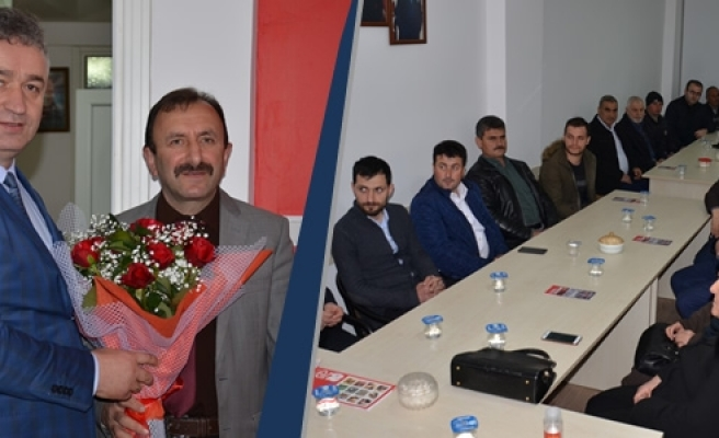 Başkan Topaloğlu'ndan MHP'ye Ziyaret