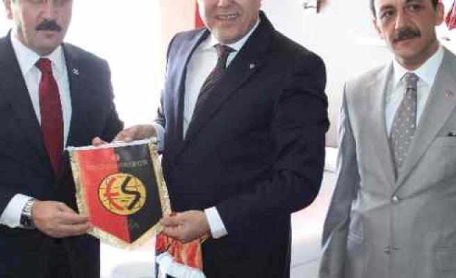 Bbp Genel Başkanı Destici'den Eskişehirspor'a Ziyaret