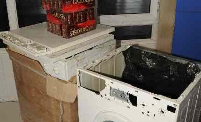 Çamaşır Makinesiyle Sigara Kaçakçılığı