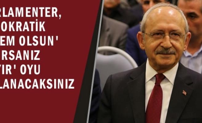 CHP Genel Başkanı Kılıçdaroğlu, Samsun'da