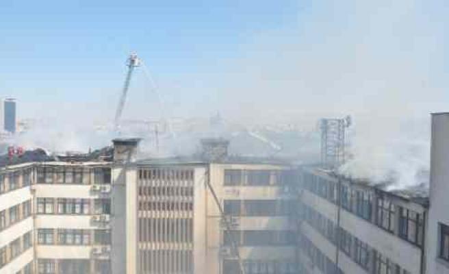 Dhmi Binasındaki Yangın Söndürüldü