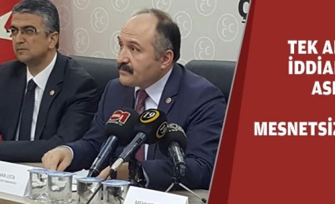 MHP Referandum İçin Start Verdi