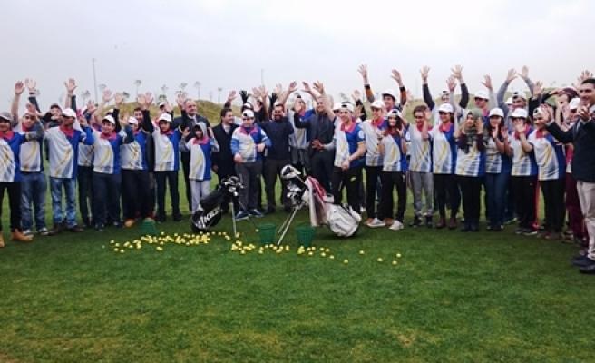 Milli Golfçüler Samsun'da Yetişiyor