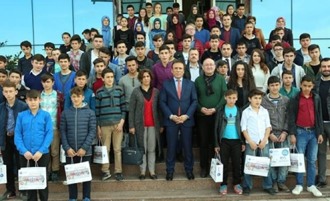 Öğrencilerden Canik'e Vizyon Gezisi